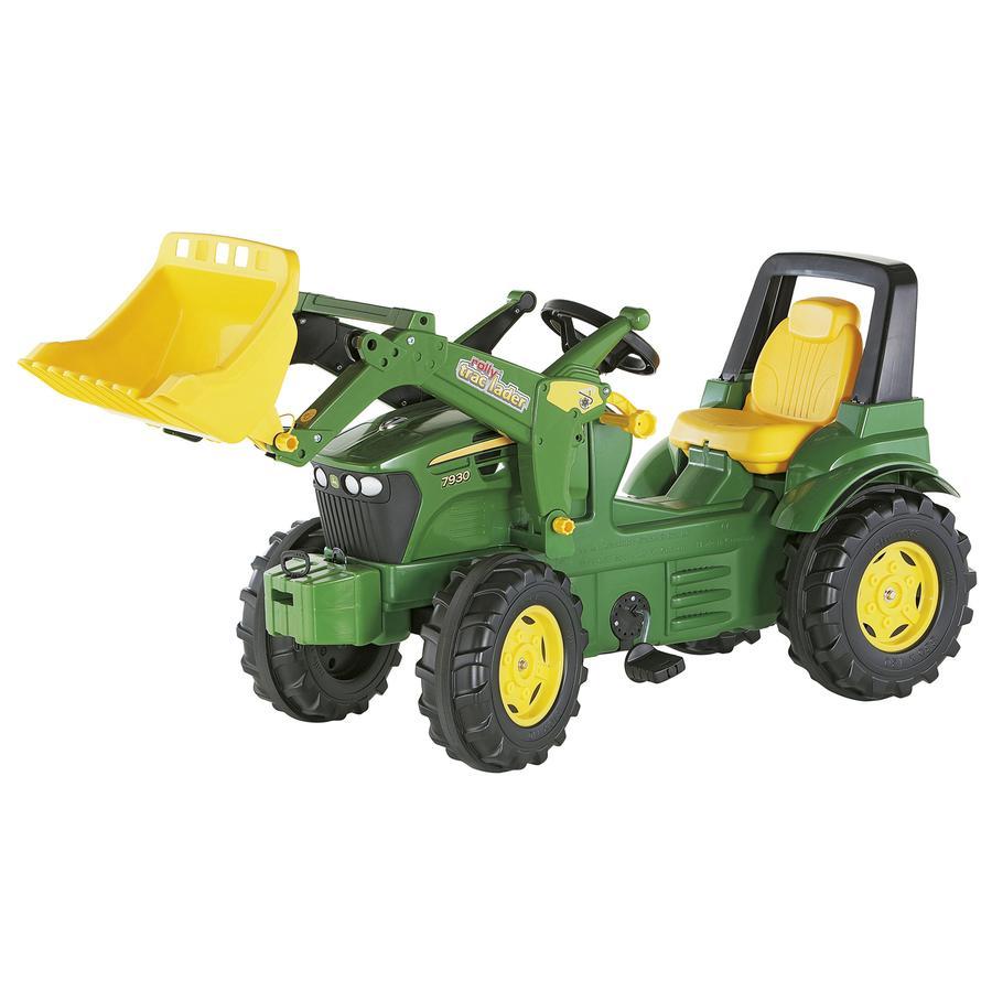 ROLLY TOYS Trattore Farmtrac John Deere 7930 con Ruspa