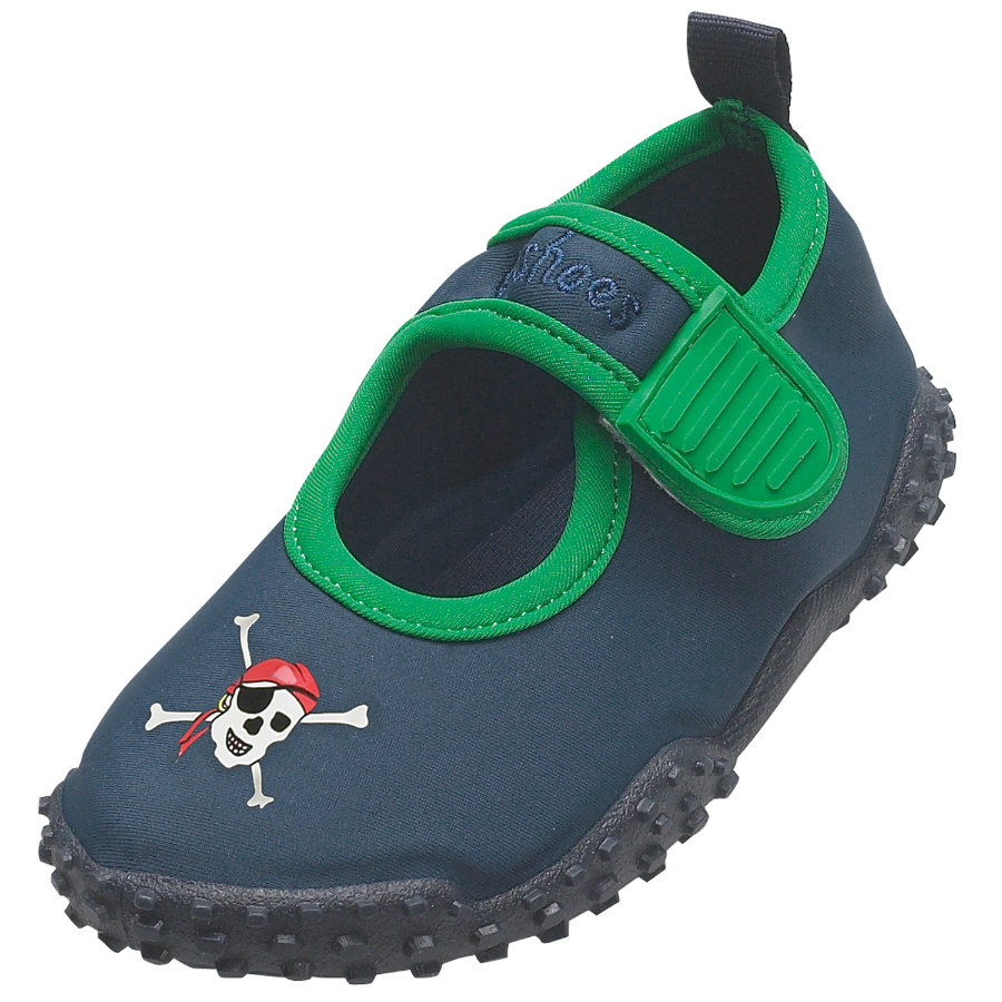 PLAYSHOES Chaussures de bain protection UV 50+ PIRATE marine