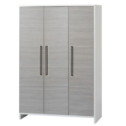 SCHARDT Eco Silber Armoire 3 portes