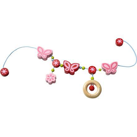 HABA Chaîne de poussette Papillons féeriques 301120