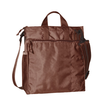 LÄSSIG Casual Buggy Bag Solid choco