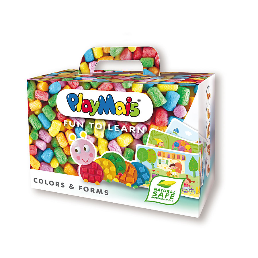 PlayMais® Classic FUN TO LEARN Colors & Forms