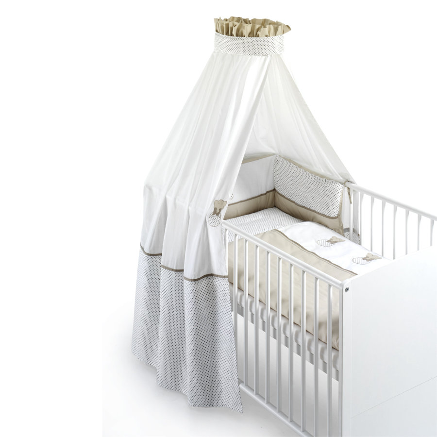 SCHARDT Set de lit 4 pièces Éléphant, beige