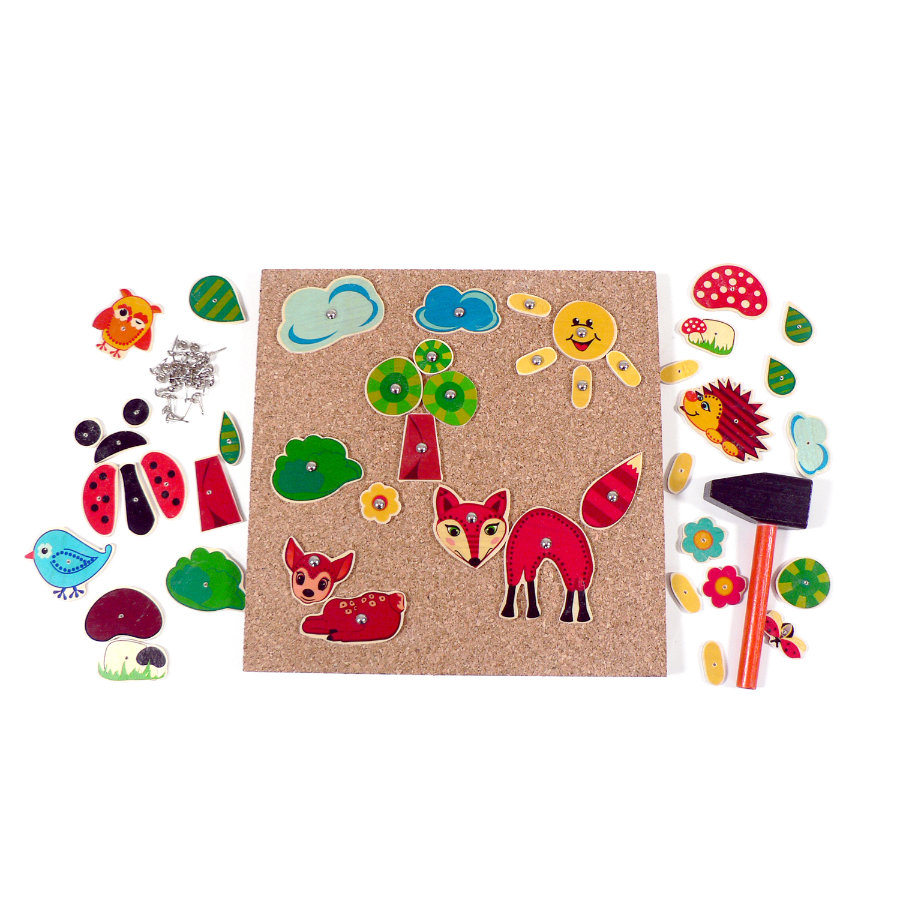 HESS Hammer Game Forest Animals