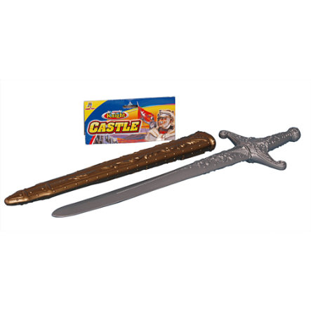 JOHNTOY Roleplay Sword with wooden Scabbard, app. 60 cm