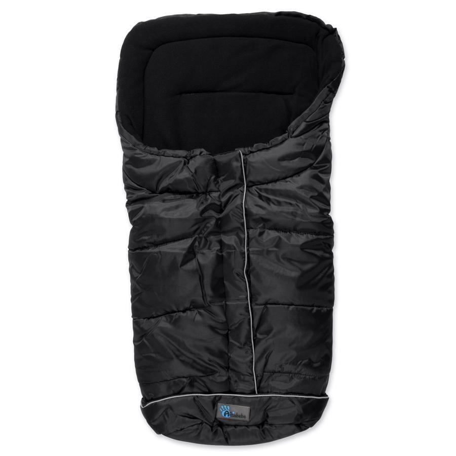 Altabebe  Vinter-kørepose Standard med anti-slip (2203) Sort panter