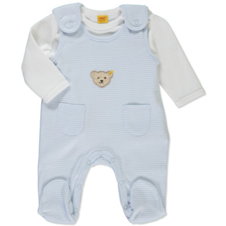STEIFF Boys Baby Rompers Set 2 pcs. baby blue