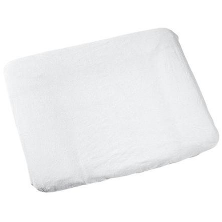 ODENWÄLDER Badstof aankleedkussenhoes 75 x 85 cm, wit