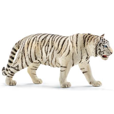 SCHLEICH Tiger, vit 14731