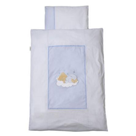 Easy Baby Linens 80x80cm Sleeping bear Blue(415-81)