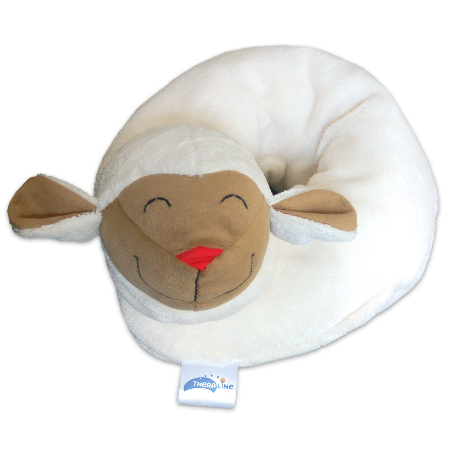 THERALINE Big Plush Neck Pillow Sheep