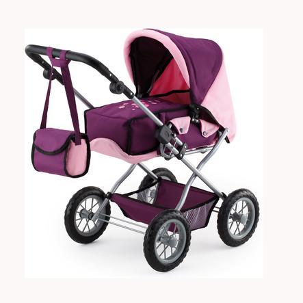 bayer Design Kombi-Puppenwagen Grande Pflaume 15057AA