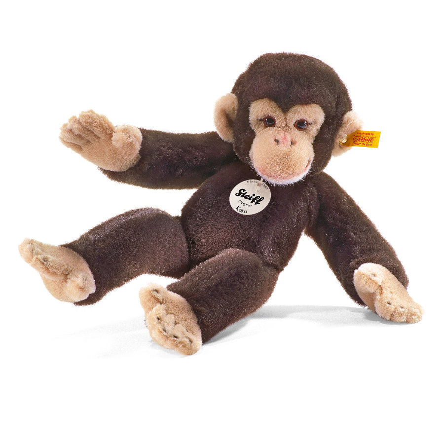 STEIFF Schimpanse Koko, braun 35 cm
