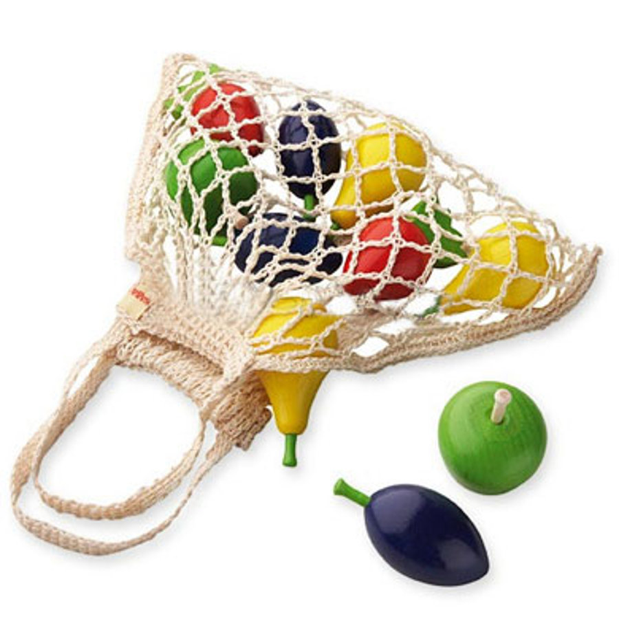 HABA Winkel & Keuken - Boodschappennet met Fruit