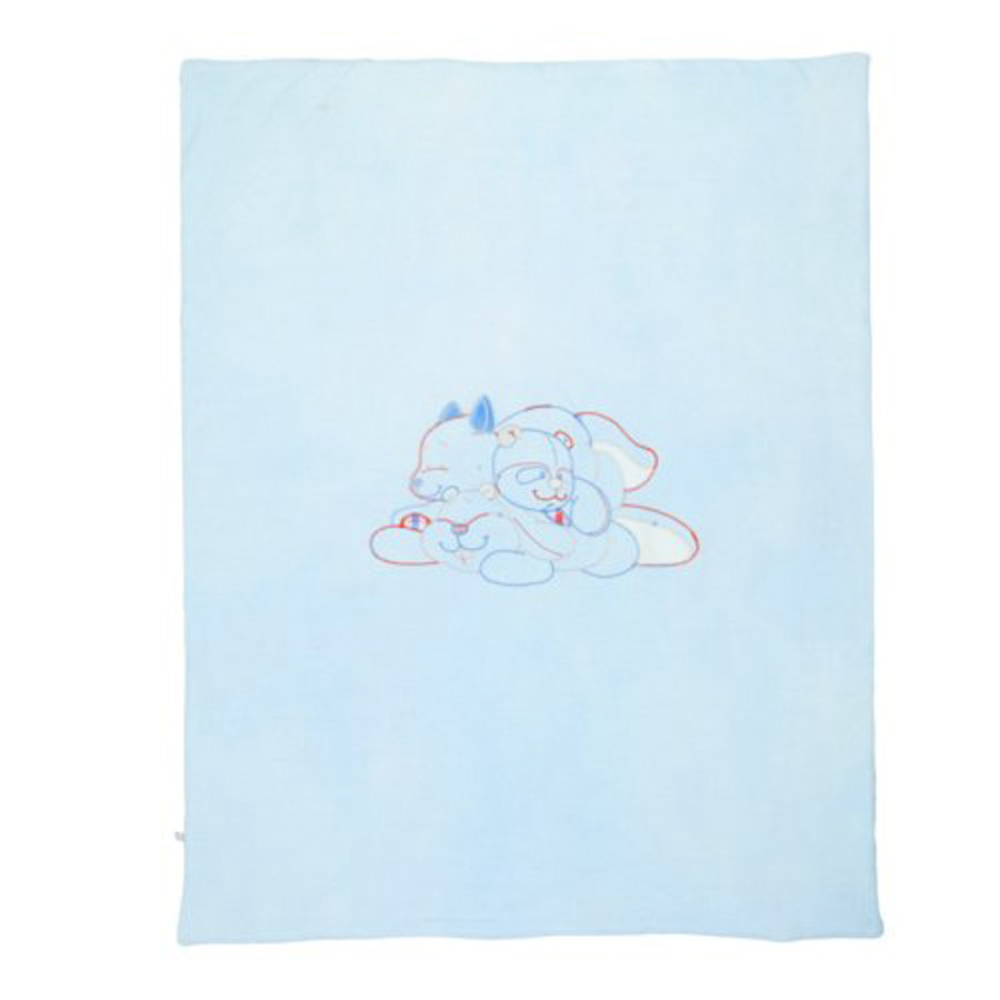 NOUKIES William & Henry Jersey deken 100 x 75 cm