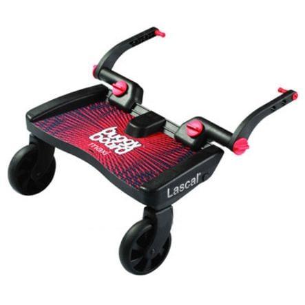 LASCAL Planche à roulettes pour poussette Buggy Board Maxi, rouge