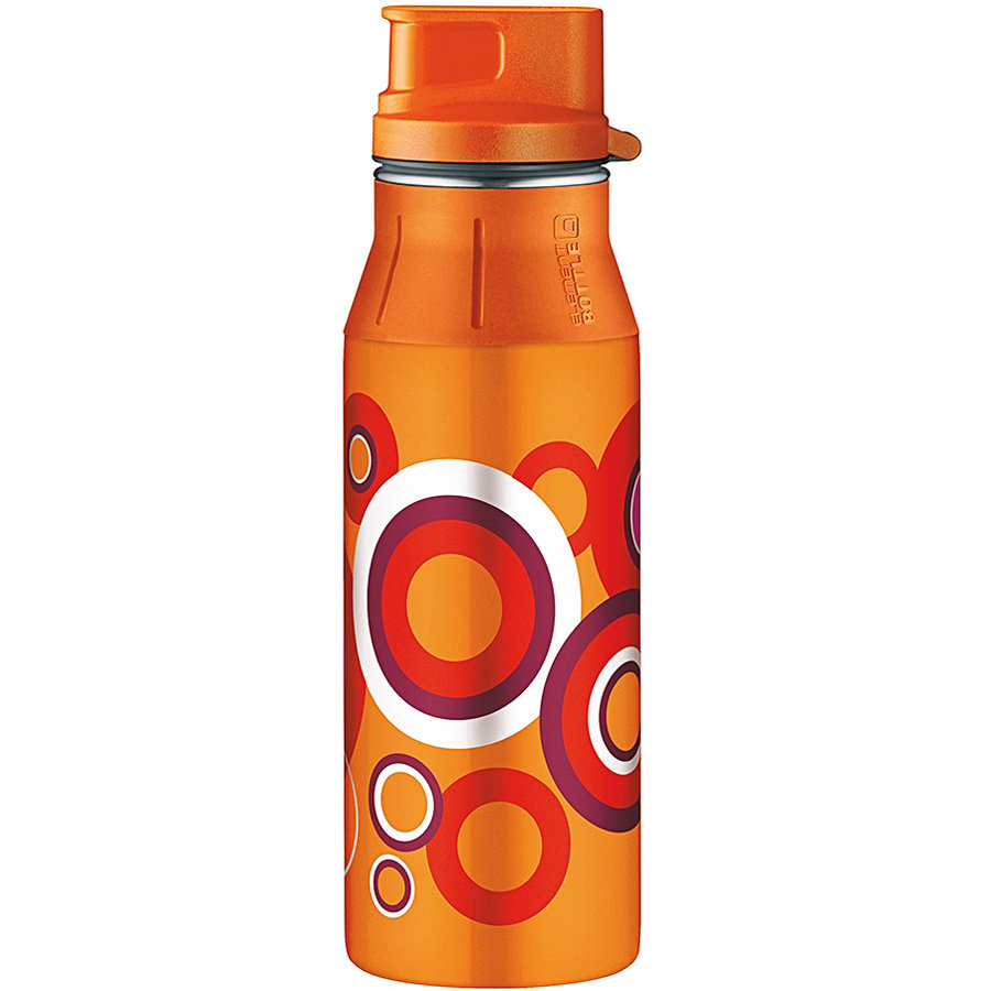 ALFI elementBottle mit Trinkverschluß - Loops orange 0,6 l