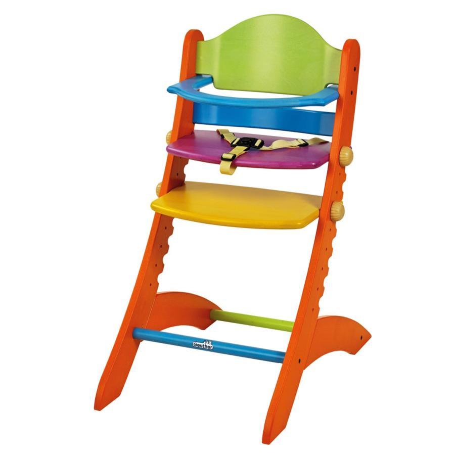 geuther Chaise haute bébé Swing bois Funny