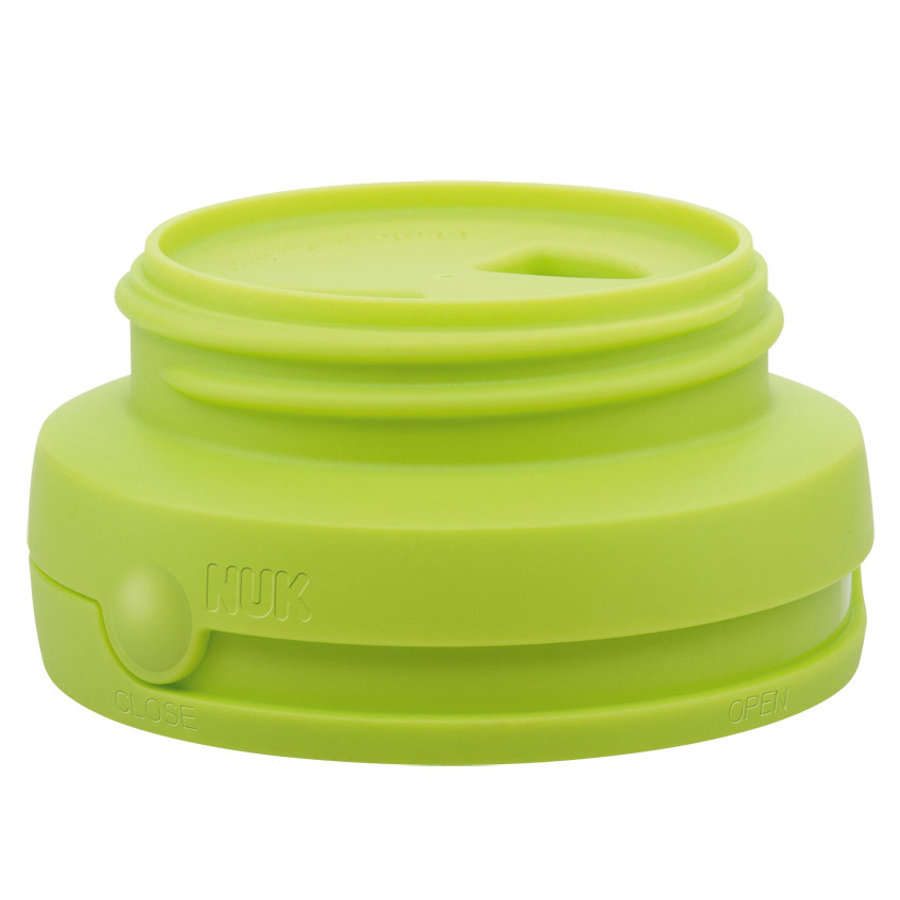 NUK FIRST CHOICE OPEN CLOSE Sistema brevettato antigoccia per biberon, colore verde
