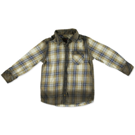 ESPRIT Boys Kids košile 1/1 rukáv barrel brown