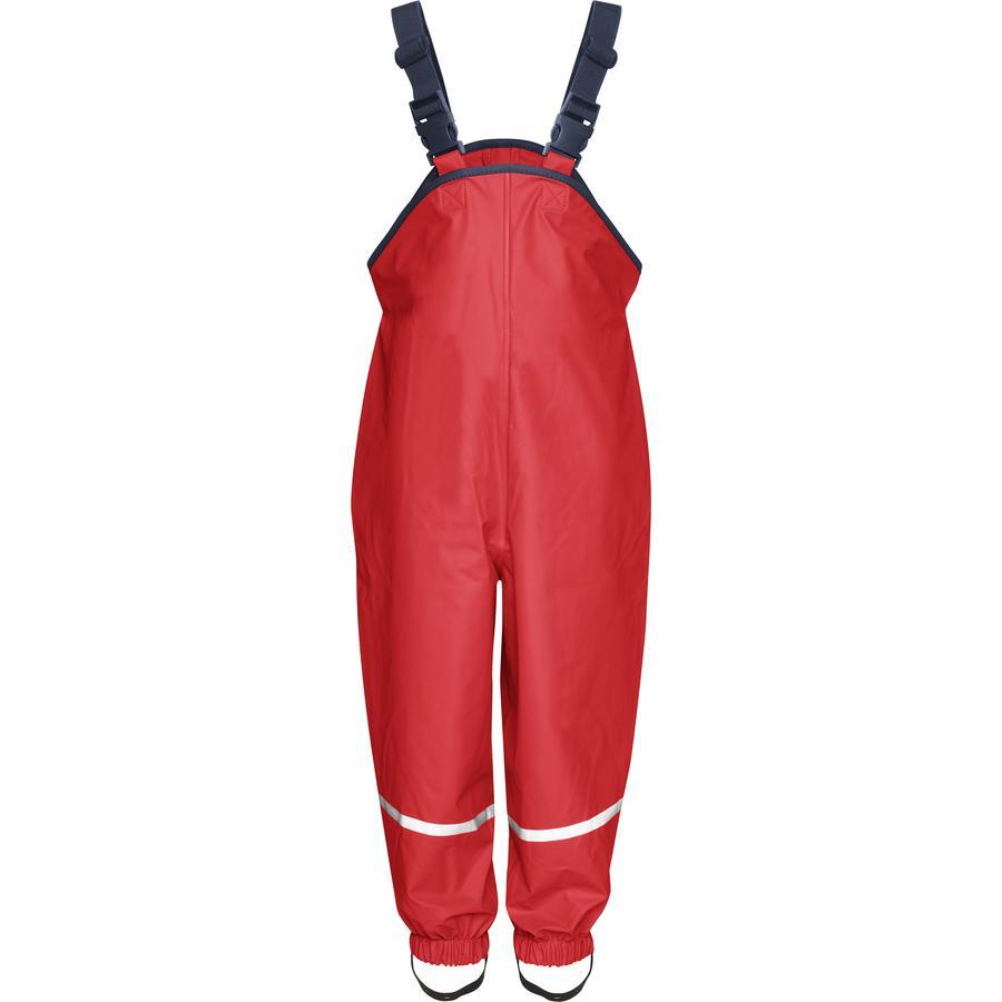 Playshoes Regnbukse Rød med Tekstilfôring
