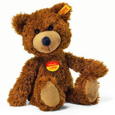 STEIFF Charly Dangling Teddy Bear - 23 cm - Brown