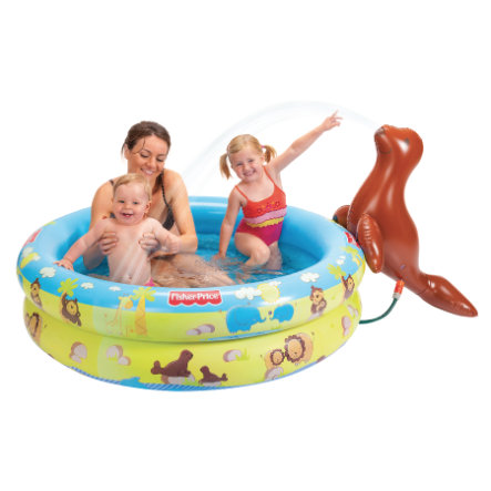 Fisher Price Piscina Spray Foca 125x30 cm
