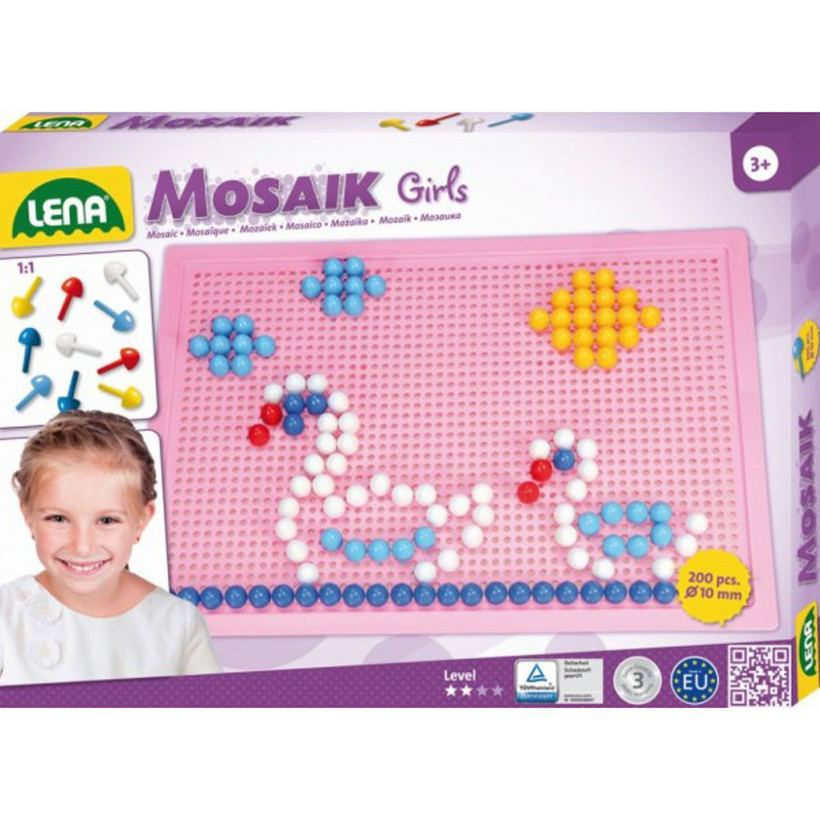 LENA® Mosaic Set Color Girls, groß