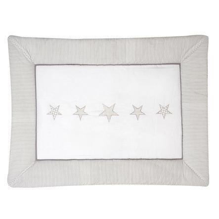 SCHARDT Hrací deka béžové hvězdičky