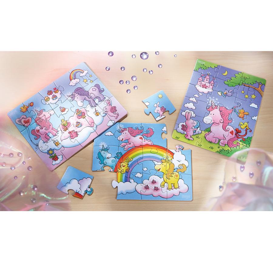HABA Puzzle - Puzzle jednorožec 300299