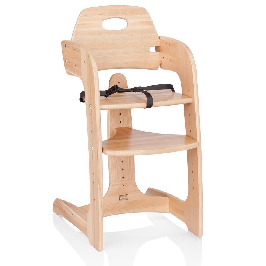 Jídelní židlička HERLAG Tipp Topp Comfort IV - přírodní