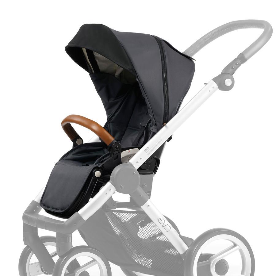 Mutsy EVO Stroller Seat Dark Grey URBAN NOMAD Edition