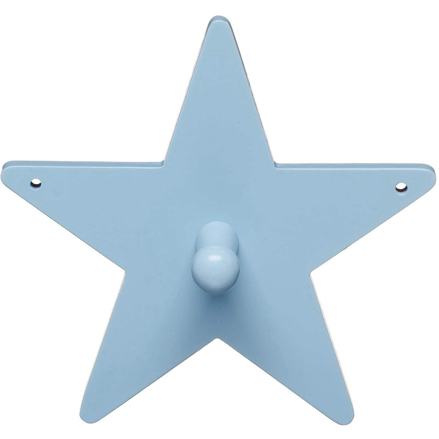KIDS CONCEPT Garderobe Star, blau 14 cm