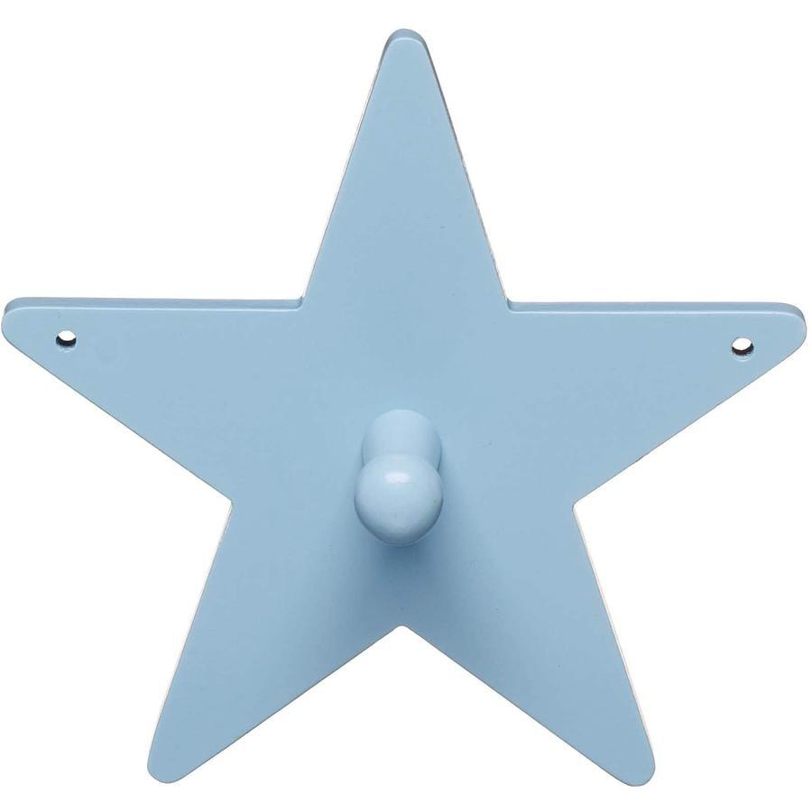 KIDS CONCEPT Garderobe Star, blauw 14 cm