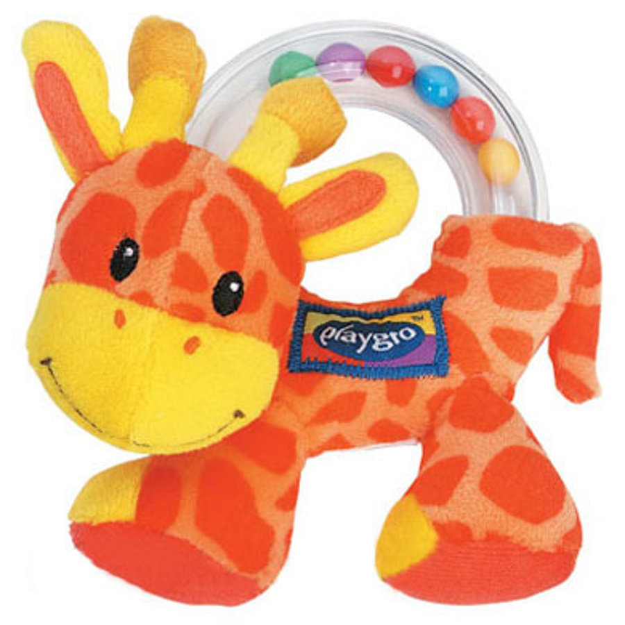 PLAYGRO NOAHS ARCHE chrastítko žirafa (40024)