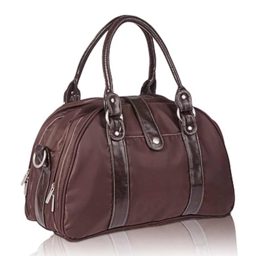 LÄSSIG Nappy Bag Shoulder Bag Glam choco