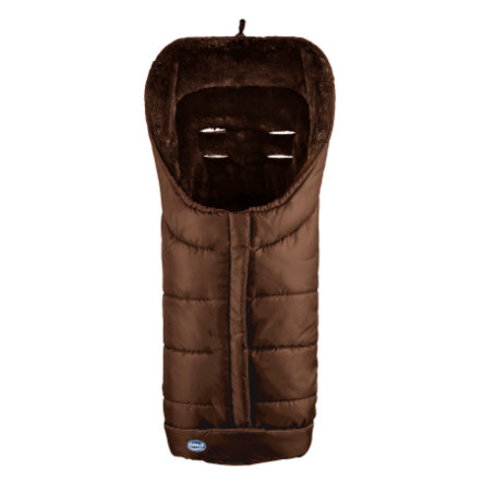 URRA Footmuff Deluxe large mocha/brown