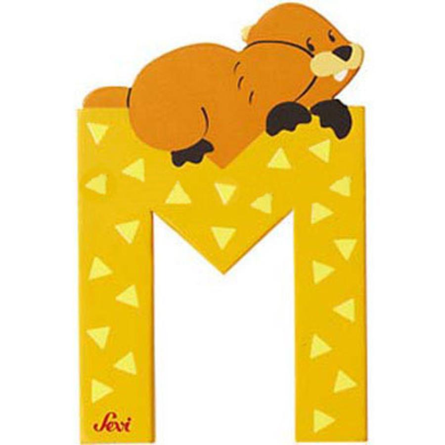 SEVI písmenko se zvířátkem M