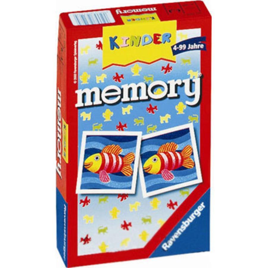 RAVENSBURGER Gioco tascabile Memory Bambini
