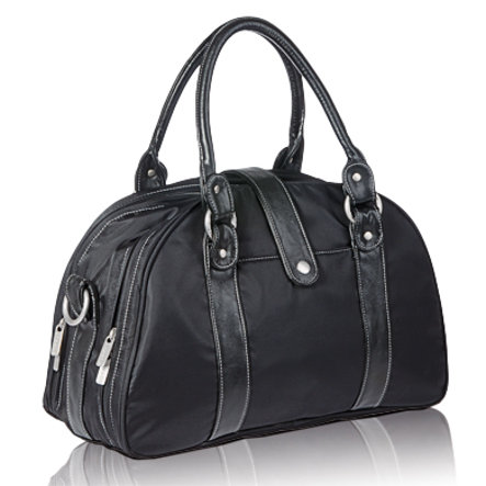 LÄSSIG Change Bag Shoulder Bag Glam, black