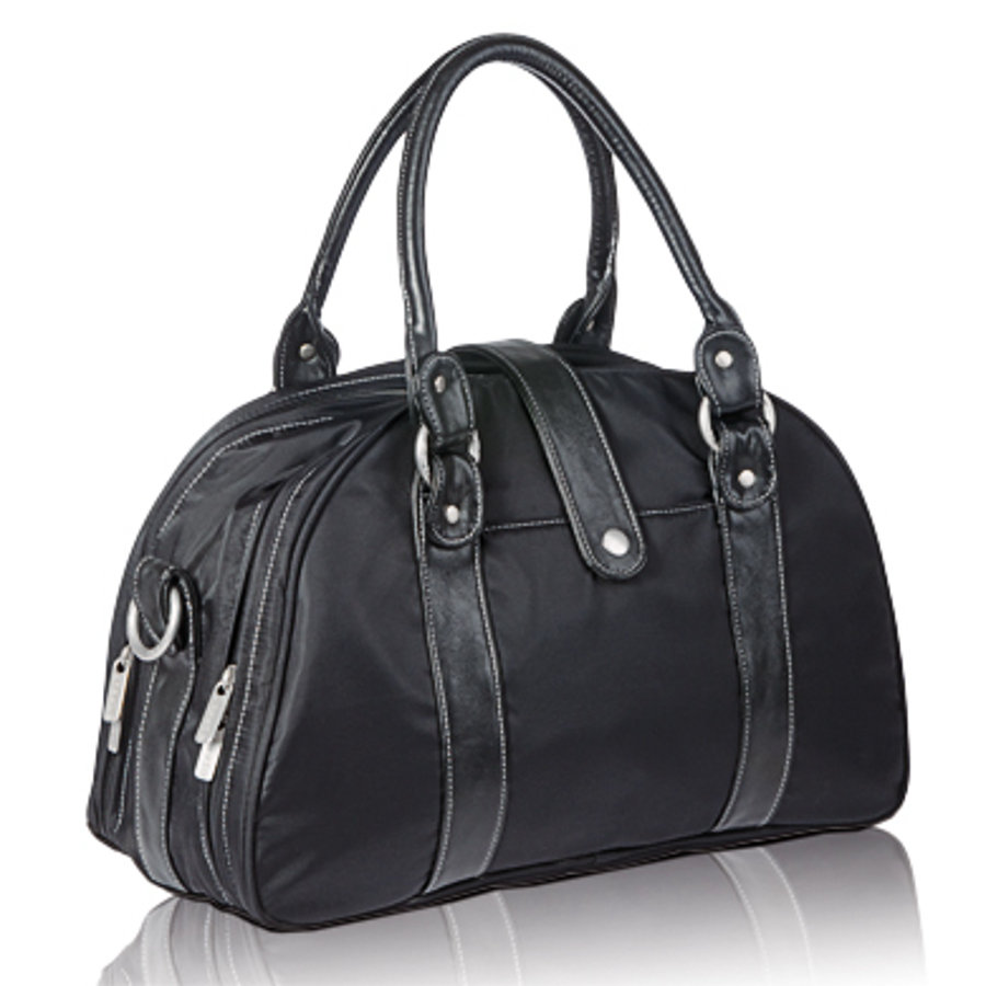 LÄSSIG Wickeltasche Shoulder Bag Glam black