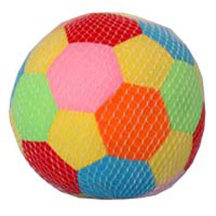 JOHNTOY Happy World Soft Ball with Rattle