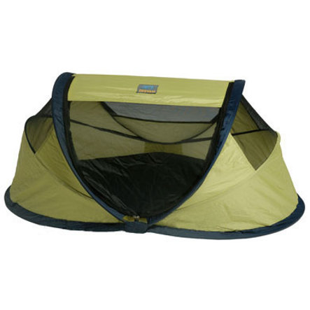 Deryan Travel Bed / Travel Cot Baby Tent Lime