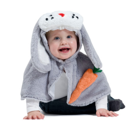 FUNNY FASHION Costume Cape Lapin