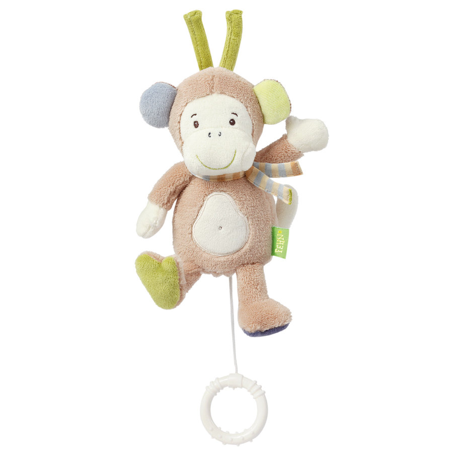 BABY SUN Mini peluche musicale Monkey Donkey Singe