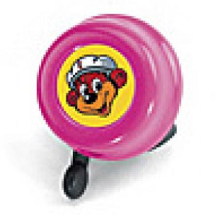 PUKY bezpečnostní zvonek G16 růžový na tříkolky