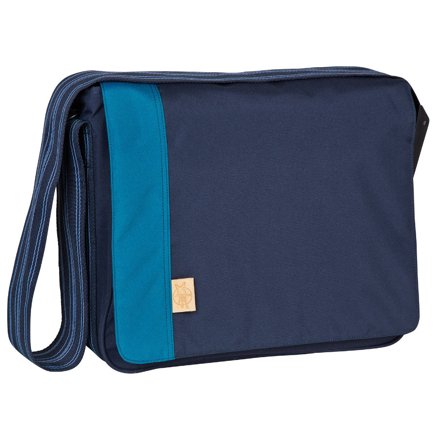 LÄSSIG Wickeltasche Casual Messenger Bag Solid navy