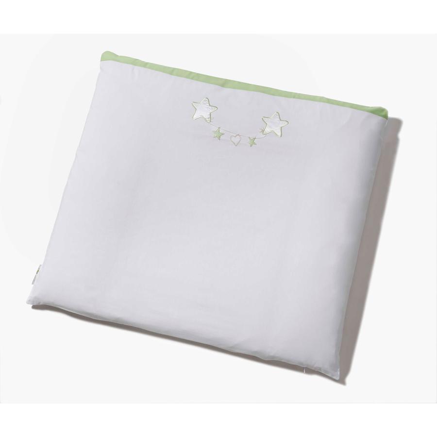 Easy Baby Aankleedkussen stof 85/75 Stars green