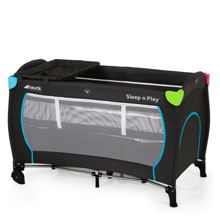 hauck Lit parapluie Sleep'n Play Center Multicolor Black, modèle 2015