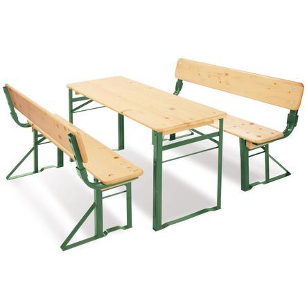 PINOLINO Set Tavolo e Panca Sepp con schienale